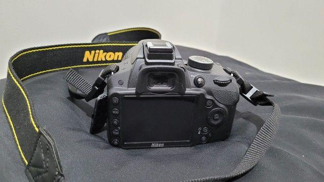 Câmera Nikon D3200 + Lente, MENOS DE 3 MIL CLIQUES! - Foto 3