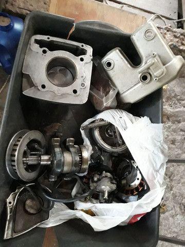 Motor Honda XR 250 Tornado , desmontado com procedência, sem o cabeçote ! - Foto 6