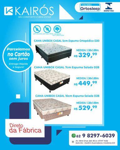 IMPERDÍVEL, Cama Unibox Casal à partir de 329$ * Selo do Inmetro