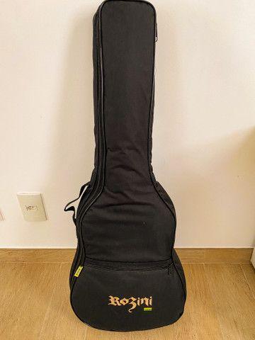 Violão de Aço Rozini Mini RX120ACN - Série Premium  - Foto 6
