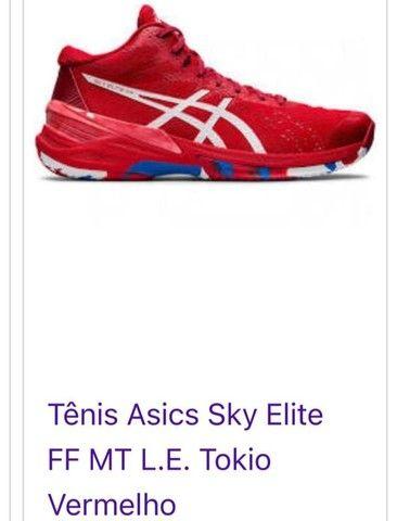 Tênis Asics Sky Elite Tokio vermelho - Foto 6