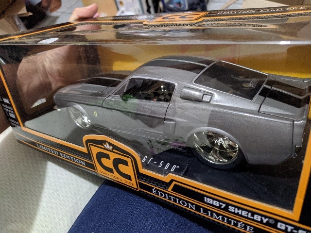 Miniatura Jada 1/18 - 1967 Shelby Gt-500 Limited Edition - Foto 2