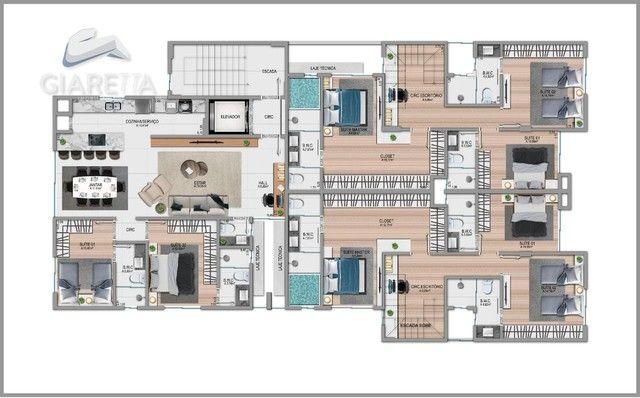 Apartamento á venda,115.00m², JARDIM LA SALLE, TOLEDO - PR - Foto 15
