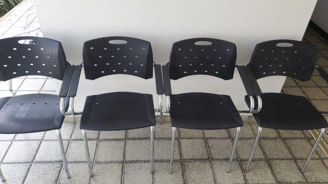 Cadeiras Cavaletti (Seminovas) - Valor Individual. - Foto 3