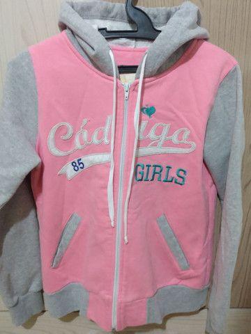 Blusa de frio da código girls