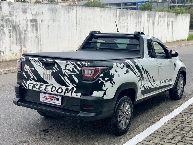 FIAT STRADA FREEDOM 1.3 CS ANO 2021 COMPLETO FALAR COM RAFAEL SANTOS  - Foto 3