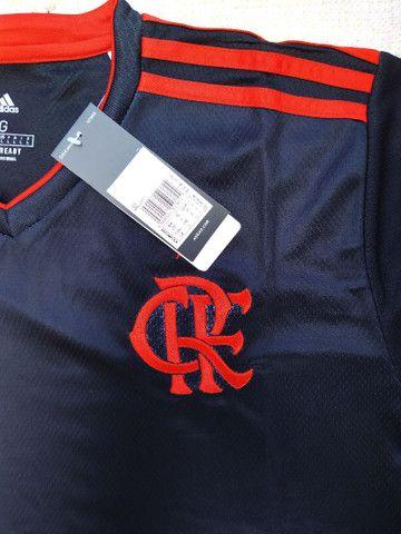Camisa Flamengo Adidas 2021 Original Importada Entrego - Foto 3