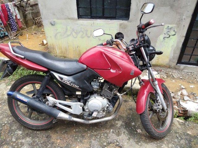 Vendo ou Troco Factor 125cc Completa Em Dias.