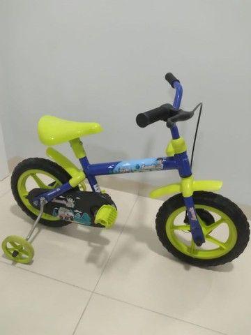 Bicicleta infantil aro 12 - Foto 5