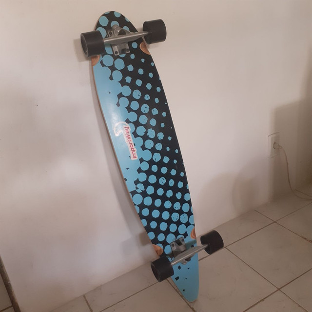 Vendo longboard novíssimo - Foto 3