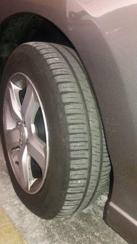 Jogo rodas Honda aro 15 com pneus - Foto 3