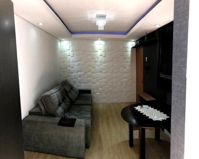 Apartamento novo com 2 dorm. semi-mobiliado, decorado pronto pra morar - Areis-São José