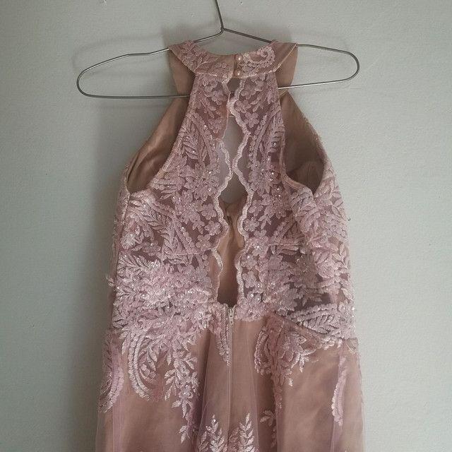 Vestido longo Rosé - Foto 3