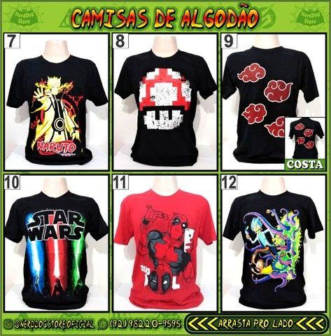 Camisas NerdDog Store - Coleção Geek (parte 1) - Foto 2
