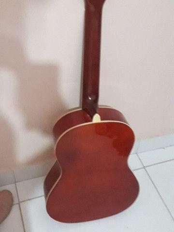 Violão nylon harmonics GNA 111nt  novo  - Foto 3