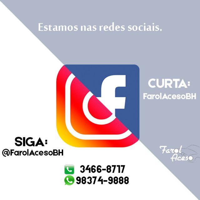 Lanterna de Placa Celta / Corsa / Classic / Kadett / Vectra - Foto 2