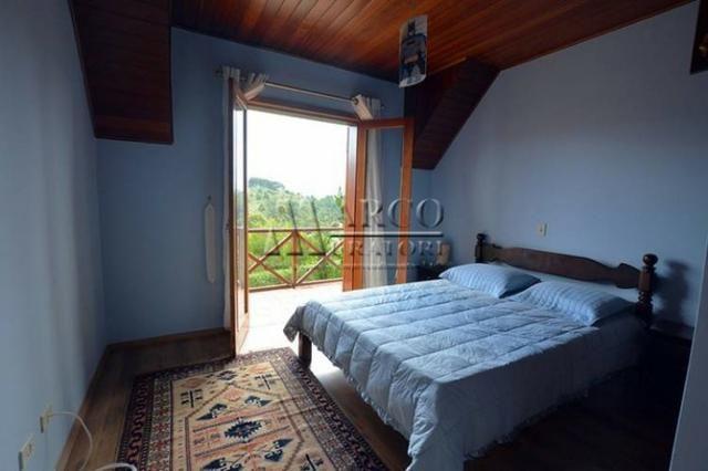 Casa em condomínio , 3 dorm + 3 quartos externos, linda vista com churrasqueira - Foto 14