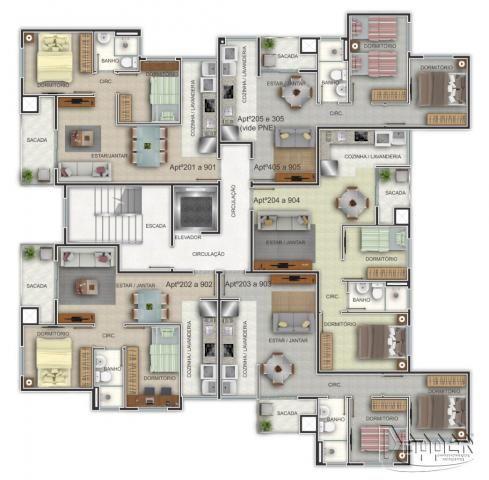 Apartamento à venda com 2 dormitórios em Ideal, Novo hamburgo cod:15322 - Foto 2