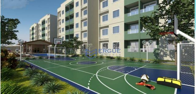 Apartamento residencial à venda, Lagoa Redonda, Fortaleza. - Foto 4