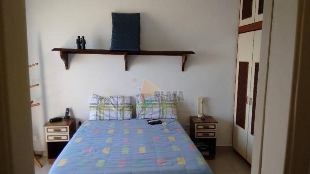 Cobertura com 3 dormitórios para alugar, 256 m² por r$ 5.000/mês - canto do forte - praia  - Foto 19