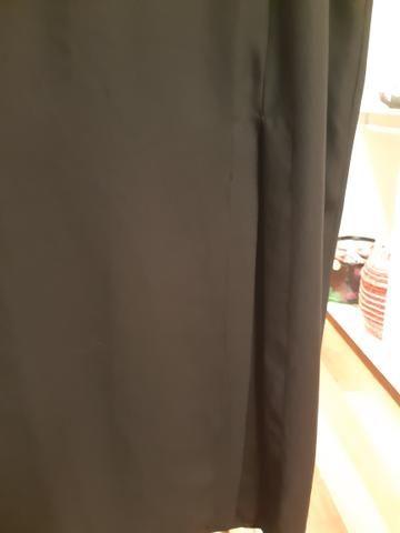 Vestido longo preto Tam 38/40 - Foto 3