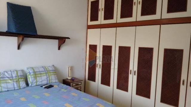 Cobertura com 3 dormitórios para alugar, 256 m² por r$ 5.000/mês - canto do forte - praia  - Foto 20