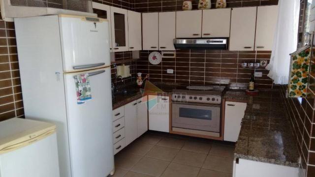Cobertura com 3 dormitórios para alugar, 256 m² por r$ 5.000/mês - canto do forte - praia  - Foto 3