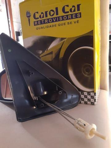 Retrovisor Gol/Parati/Saveiro 2 Portas G3 controle manual - Foto 2
