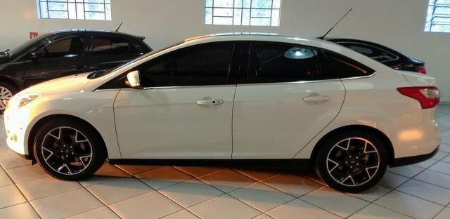 Focus sedan titanium plus c/ Teto 2014 - Foto 5
