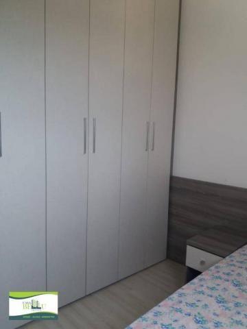 Apartamento com 2 dormitórios à venda, 54 m² por r$ 185.000 - companhia fazenda belém - fr - Foto 10