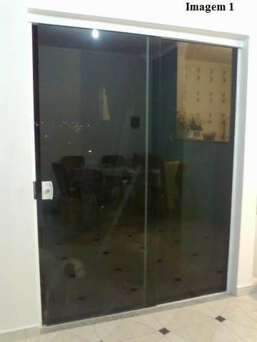 Fabricamos sobre medidas portas janelas em vidro temperado incolor verde fumê - Foto 3