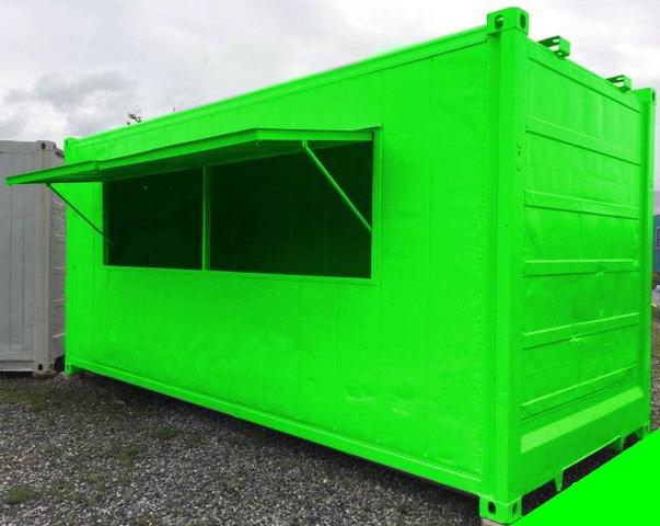 Container lanchonete reefer