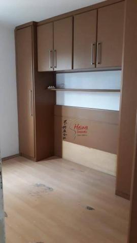 Apartamento com 2 dormitórios à venda, 52 m² por r$ 255.000 - vila mangalot - são paulo/sp - Foto 11
