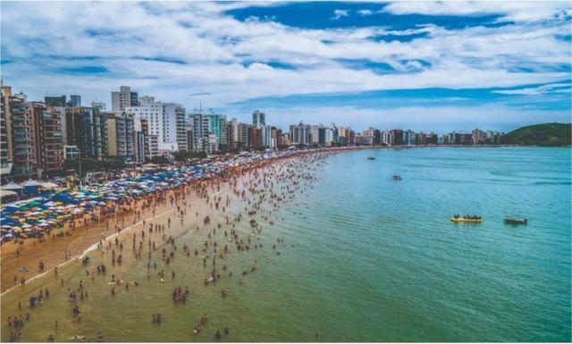 Apartamento Temporada Ed. Frente para o Mar Praia do Morro Guarapari até 10 Pessoas - Foto 20