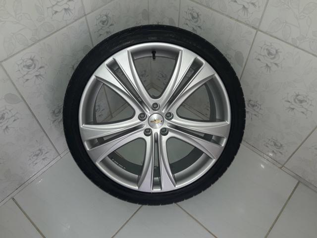 Rodas aro 20 com pneus + molas esportivas do Cruze - Foto 2