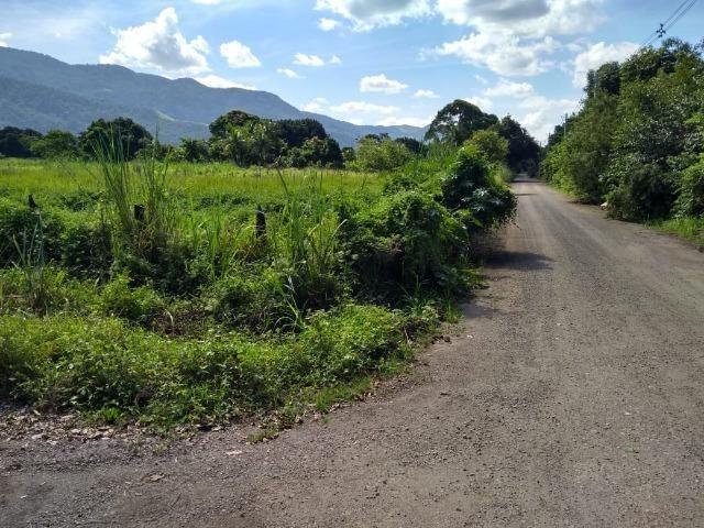 Terrenos com 1600 e 2100 m² plano - Documentado - Santa Cândida - Itaguaí - Foto 2