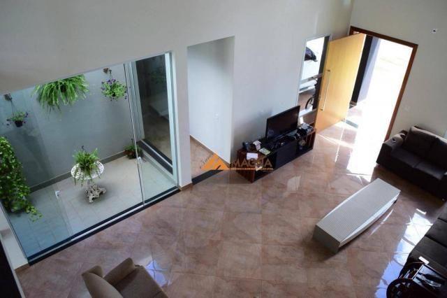 Casa residencial à venda, condomínio residencial ana carolina, cravinhos. - Foto 9