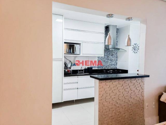 Apartamento com 2 dormitórios à venda, 64 m² por R$ 600.000,00 - José Menino - Santos/SP - Foto 12