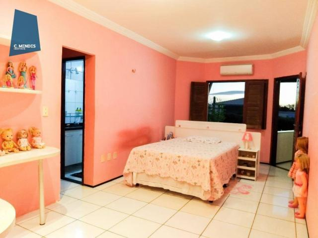 Casa Duplex 360 m² à venda, 5 suites, 4 vagas, Edson Queiroz, Fortaleza. - Foto 9