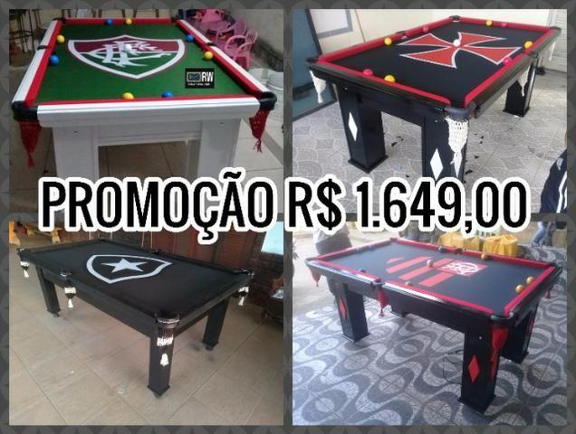 Sinucas Personalizadas De Clubes Do Rio