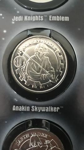 Álbum Star Wars medalhas - Foto 3
