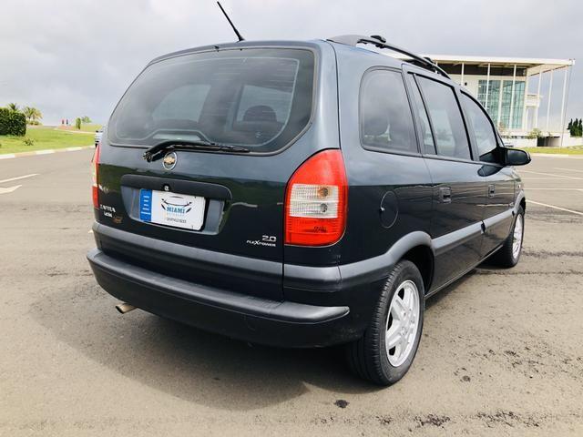 Chevrolet Zafira 2.0 Comfort 8v flex 2008 Vendo, troco e financio - Foto 5