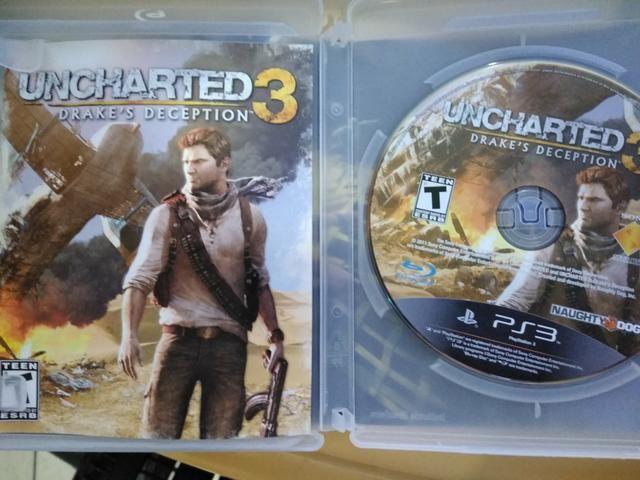 Jogo Uncharted 3 Drake's Deception para Playstation 3 - Foto 3