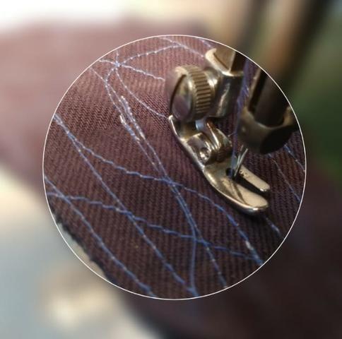 Maquina De Costura Reta Vigorelli Doméstica Verdinha - Foto 4