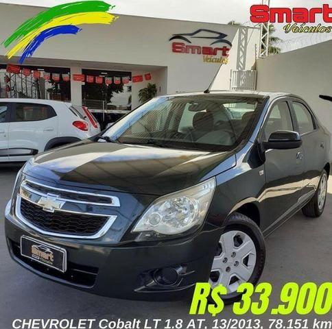 Smart Veículos - Chevrolet Cobalt LT 1.8 AT, 13/2013, 78.151 Km R$ 33.900,00