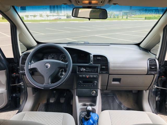 Chevrolet Zafira 2.0 Comfort 8v flex 2008 Vendo, troco e financio - Foto 7