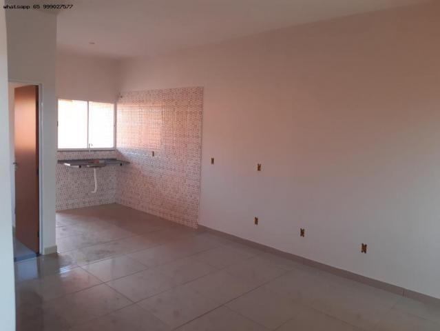 Casa para Venda em Várzea Grande, Novo Mundo, 2 dormitórios, 1 suíte, 2 banheiros, 2 vagas - Foto 8