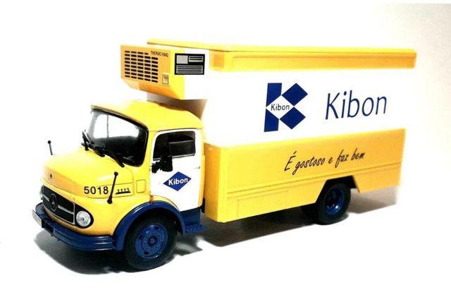 5 Miniatura Caminhão coleção caminhões Brasileiros - Foto 4