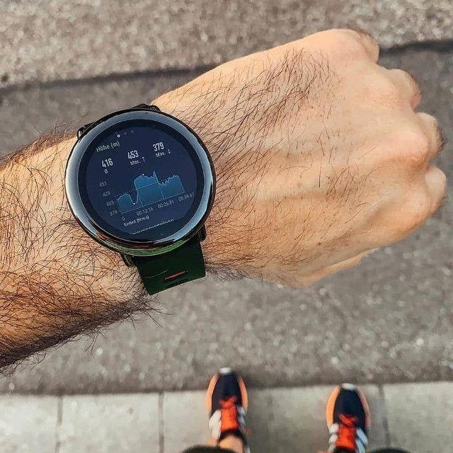 Relógio inteligente Xiaomi Amazfit Pace