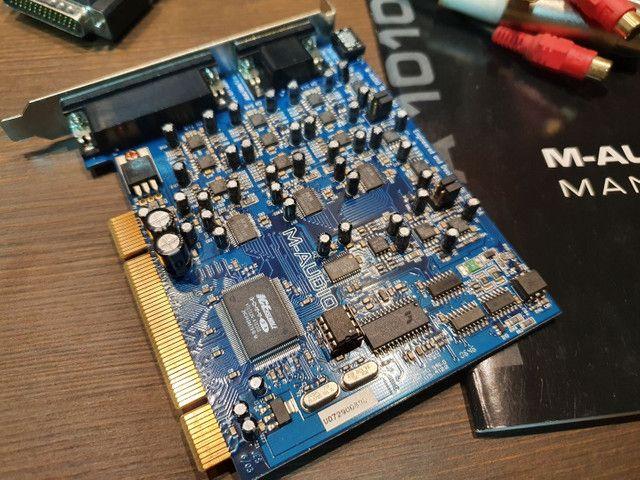Placa Delta 1010LT - Interface de gravação para Home Estúdios - Foto 3